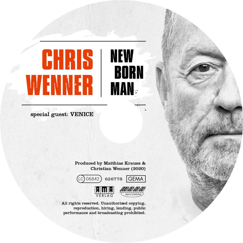new born man cd cover